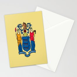 Flag new jersey, america,usa,northeastern,Jerseyan, Jerseyite,Garden State,newark,Paterson,Elizabeth Stationery Cards