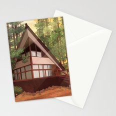 Tahoe Cabin Stationery Cards