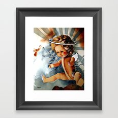 Doll Framed Art Print