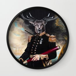 Yes My Deer Wall Clock