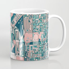 washington dc city skyline Coffee Mug