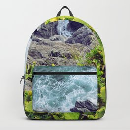 Don't cry it's just the sea Backpack