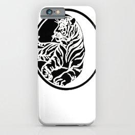 Tiger Tattoo - Black iPhone Case