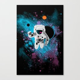 the immeasurable void Canvas Print