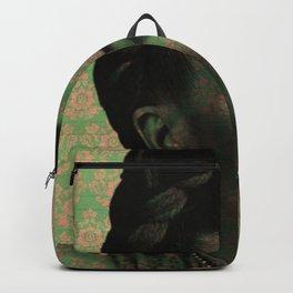 Green Frida Kahlo Backpack