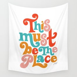 This Must be the Place (Primary Palette) Wall Tapestry