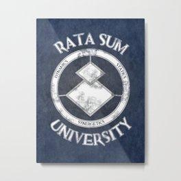 Rata Sum University Metal Print