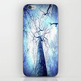Winter's Coming : Wintry Trees Galaxy Skies iPhone Skin
