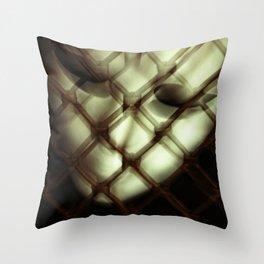 Caged Masquerade Mask Throw Pillow