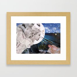 Diana & Endymion Framed Art Print