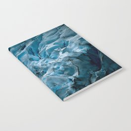 Blue Ice Glacier in Norway - Landscape Photography Notebook