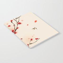 Oriental plum blossom in spring 005 Notebook