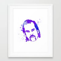 nick cave Framed Art Prints featuring NICK CAVE by BIG Colours