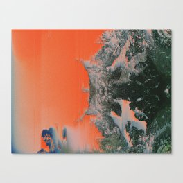 C0NFR0NT Canvas Print