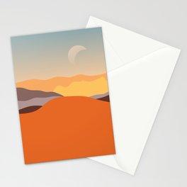 Muddy Desert Stationery Cards