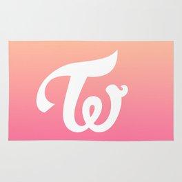 Twice Logo Rug