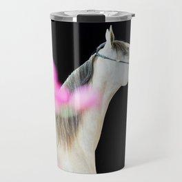 horse collection. arabian grey Travel Mug