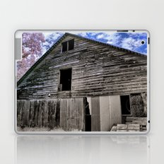Old Barn at the Peach Farm Laptop & iPad Skin