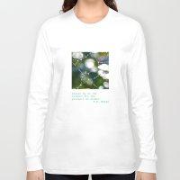 wonder Long Sleeve T-shirts featuring Wonder by Janice Sullivan