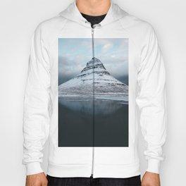 Iceland Mountain Reflection - Landscape Photography Hoody