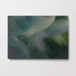 Fiber Ocean Metal Print