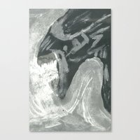 xenomorph Canvas Prints featuring Resist Xenomorph by CliftJinkens