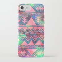 techno iPhone & iPod Cases featuring Techno Native by Schatzi Brown