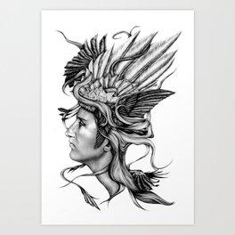 Valkyrie v1 Art Print