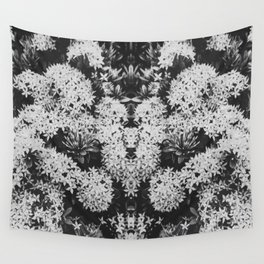 Temple Flowers I Wall Tapestry