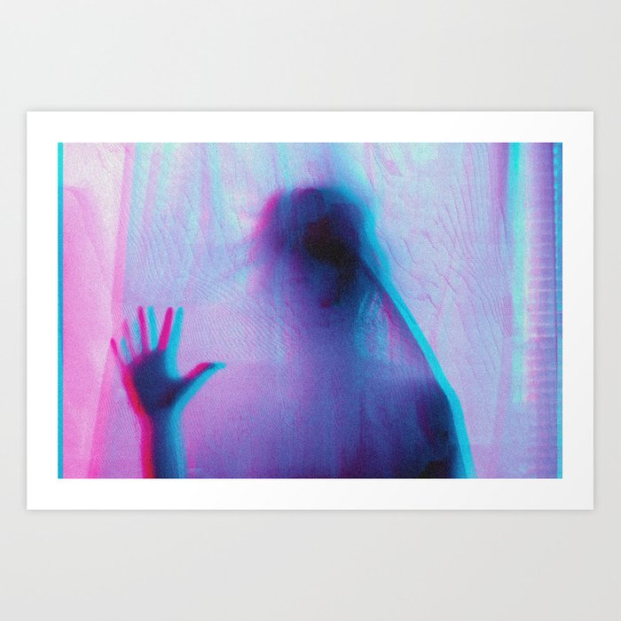 anaglych_2.0_09 Art Print