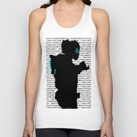 dead space Tank Tops featuring Isaac - Dead Space by Leamartes