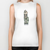 the dude Biker Tanks featuring Dude by Jans Wurst