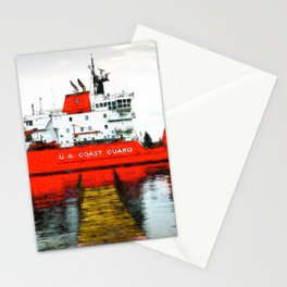 Coast Guard Cutter Mackinaw Stationery Cards
