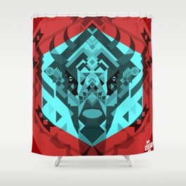 El Bisonte 01 Shower Curtain