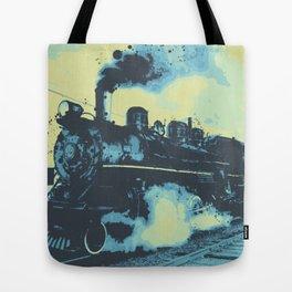 Morning train 1946 Tote Bag