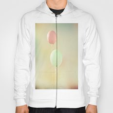 Balloons in Tie-Dyed Sky Hoody