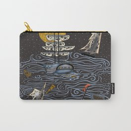 Ghost Ships on the Sea Carry-All Pouch