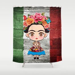 Frida Mexican Shower Curtain