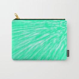 Seafoam Pixel Wind Carry-All Pouch