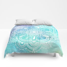 Galaxy Mandala - Watercolor Comforters