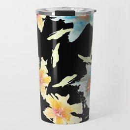 Black back Travel Mug