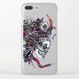 Death God Itzamna Clear iPhone Case