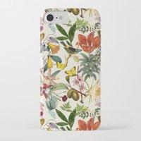 botanical iPhone & iPod Cases featuring Botanical by Bambouchic
