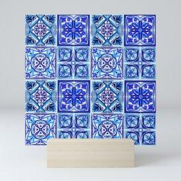 Patterned Tiles no 1 Mini Art Print
