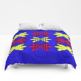 Symmetry: Hawaiian Pattern Comforters