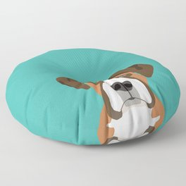 Boxer head dog breed gifts cute pupper Boxers must haves Floor Pillow