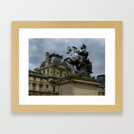 Riding into Battle Framed Art Print