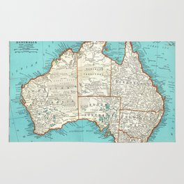 Australia; re-imagined Rug