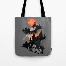 A samurai's life Tote Bag