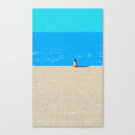 beach-1 Canvas Print